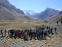 mid-meeting field trip to Aconcagua