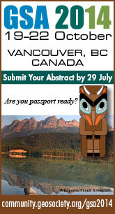 GSA2014 - Submit Your Abstract