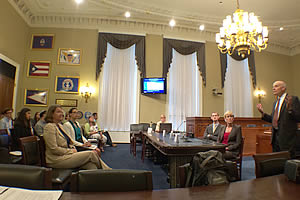 staffer's-eye view of a briefing on carbon capture and sequestration