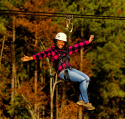 ziplining in North Carolina