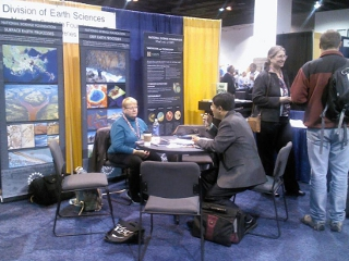National Science Foundation booth
