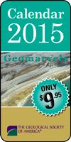 """2015 GSA Calendar """"Geomarvels"""""""