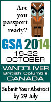 GSA2014 Abstracts due 29 July