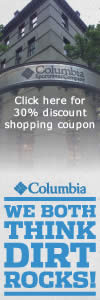 Columbia Sportswear ad