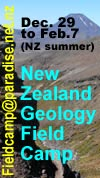 NZ field camp ad