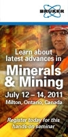Bruker Minerals and Mining meeting