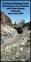 Cumbres-Toltec Geology Train trip 23 June 2013