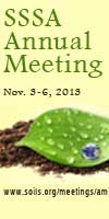 Soil Science Society of America Annual Meeting