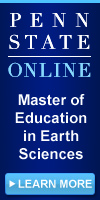 PSU World Campus Master of Education in Earth Science