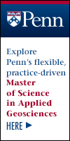 Univ of Pennsylvania Master of Science in Applied Geosciences