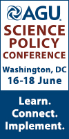 AGU Science Policy Conference