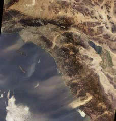 southern California - aerial view