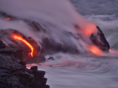 Photo courtesy of Hawaii Volcanoes Observatory.