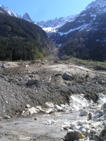 Rotalui debris flow torrent of the Aare catchment