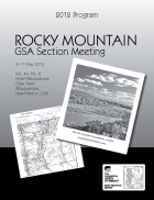 2012 Rocky Mountain Meeting Program