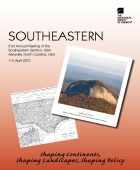 2012 Southeastern Section brochure