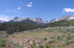 Sawtooth Mountains, Idaho