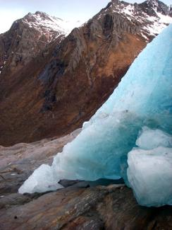 Engabreen glacier from Moore et al.