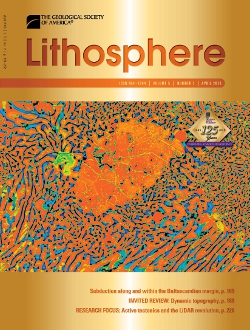 April 2013 Lithosphere