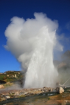 Geyser in Russia