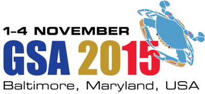 GSA 2015 Annual Meeting Logo