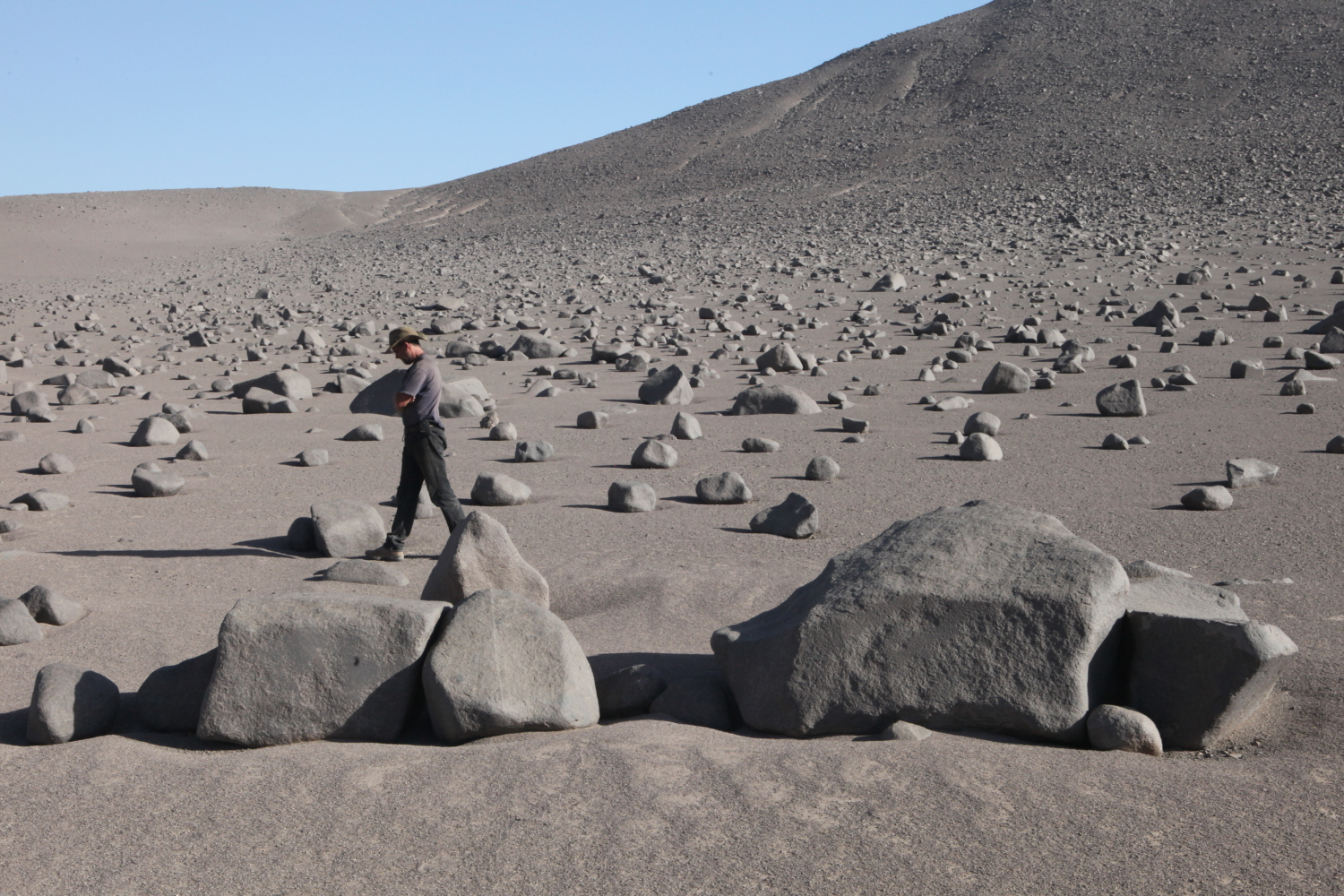 Earthquakes As Weathering Agents The Rubbing Boulders Of The Atacama The Trembling Earth Agu Blogosphere