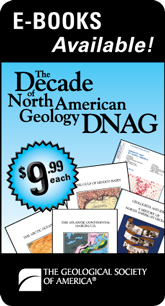 Decade of North American Geology e-books