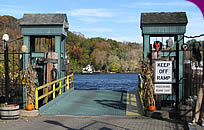 Ferry crossing on the Connecticut River