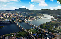 Tennessee River & Chattanooga