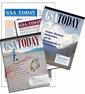 GSA Today covers