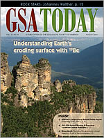 August 2011 GSA Today cover