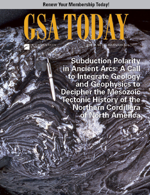 GSA Today cover, November 2019