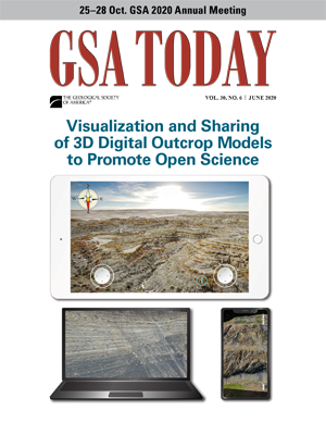 GSA Today cover, June 2020