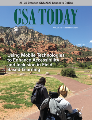 GSA Today cover, September 2020