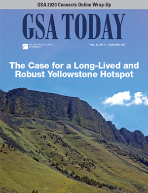 GSA Today cover, January 2021