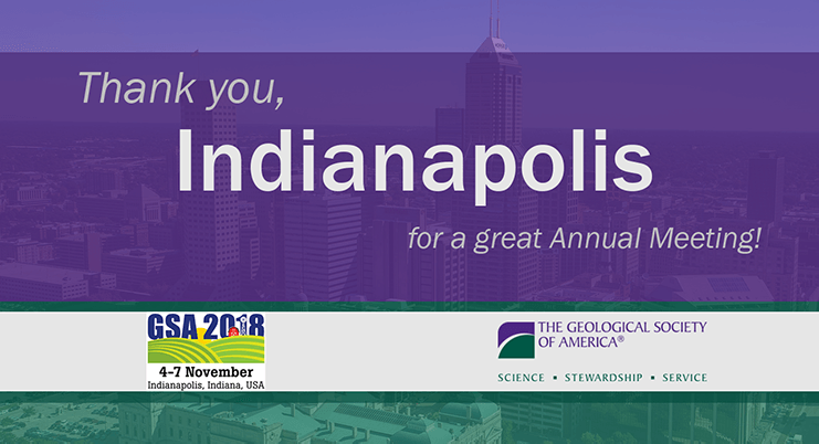 Thank you, Indianapolis for a great Annual Meeting