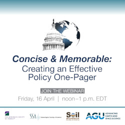 Concise and Memorable: Creating an Effective Policy One-Pager