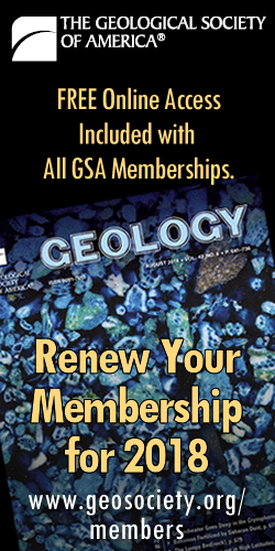 Geology free online with 2017 membership