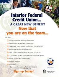 Interior Federal Credit Union Flyer