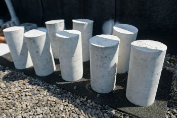 concrete cylinders