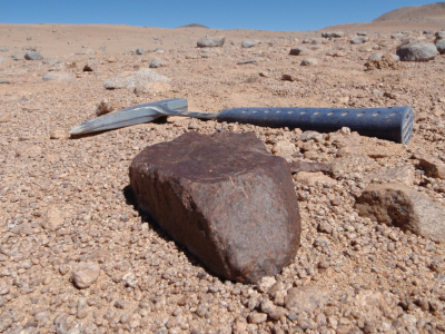Large meteorite found in the Atacama Desert