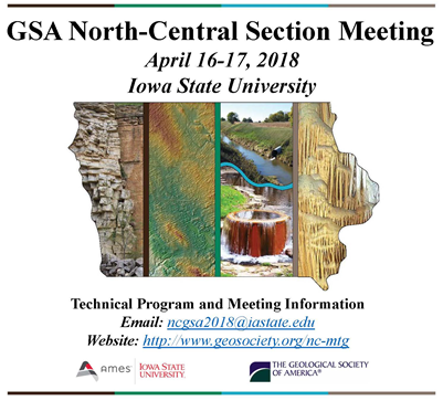 2018 NCGSA Meeting Flyer