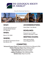 2020 South-Central Section Meeting flyer
