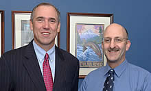 Jeff Rubin meets with Senator Merkley (D-OR)