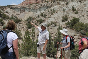 Exploring geology in the field