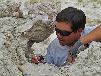 Philip Varela, Field Paleontology, Badlands National Park, South Dakota, 2014