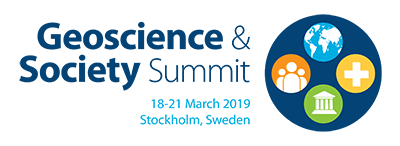 Geoscience and Society Summit, 18-21 March 2019, Stockholm, Sweden