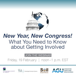 New Year, New Congress! What You Need to Know about Getting Involved