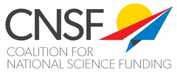 Coalition for National Science Funding - logo