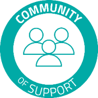 Community of Support logo.